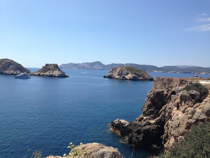 Mallorca Bucht mit Küste