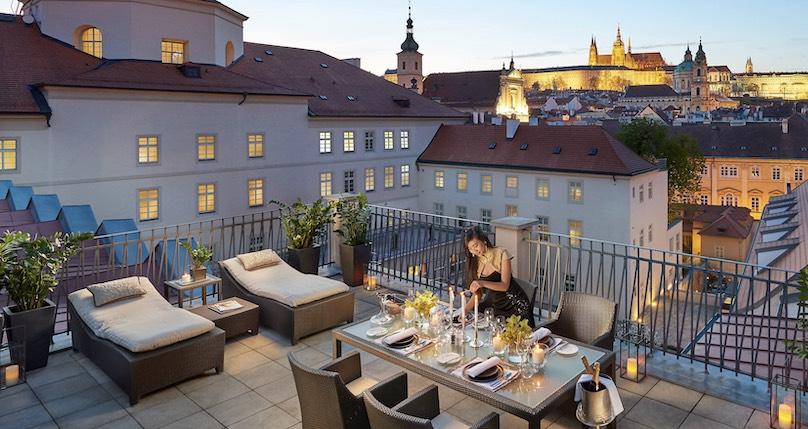 Mandarin Oriental Prag Private Terasse Suite