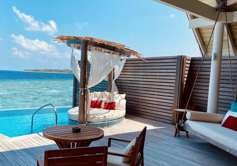 Malediven Milaidhoo Water Villa