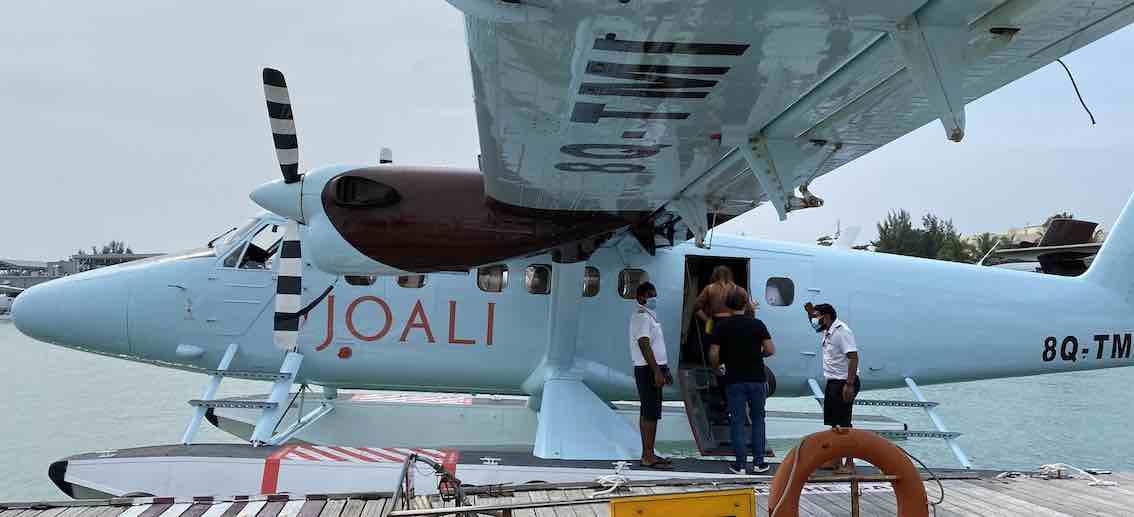 Joali Maldives Flieger