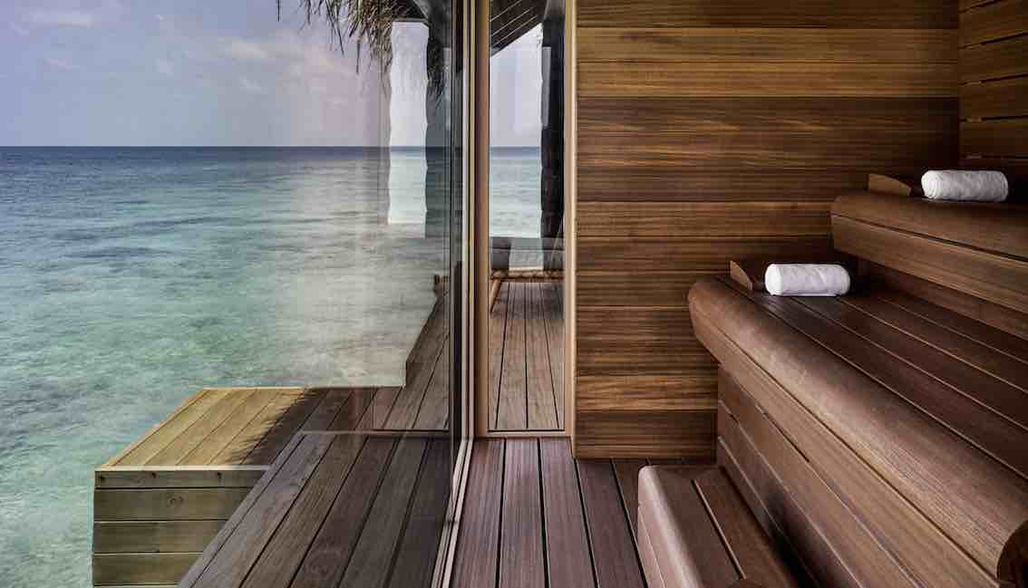 Joali Maldives Sauna