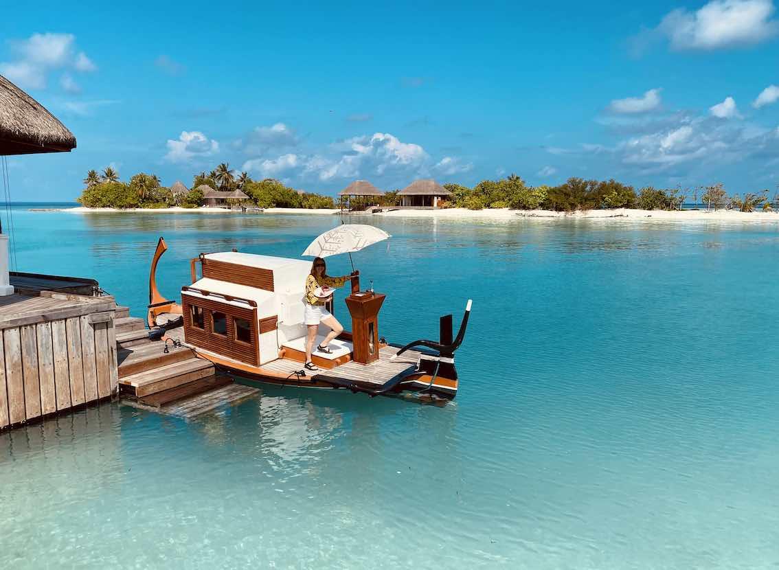 Maldiven Urlaub Four Seasons Kuda Huraa