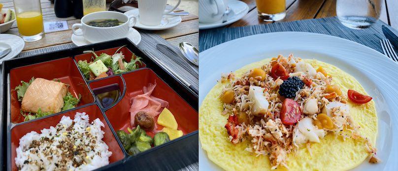Frühstück St. Regis Maldives