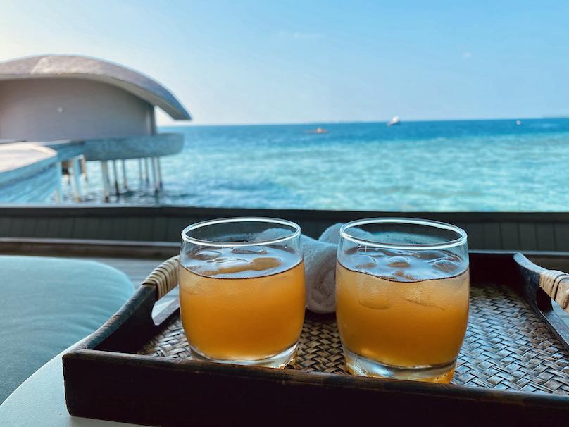 St. Regis Maldives Spa Ingwer Drink
